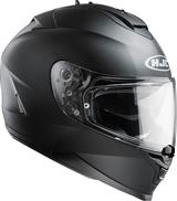 Helm HJC IS-17 solid zwart mat